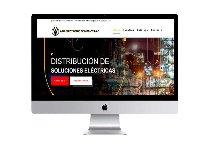 a&g electronic company sac