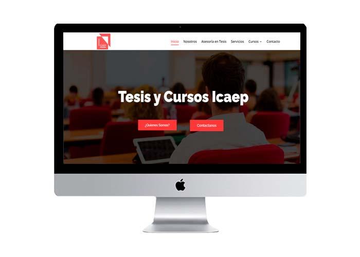 tesis y cursos icaep