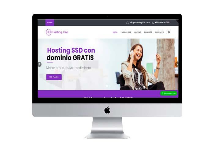 hosting divi