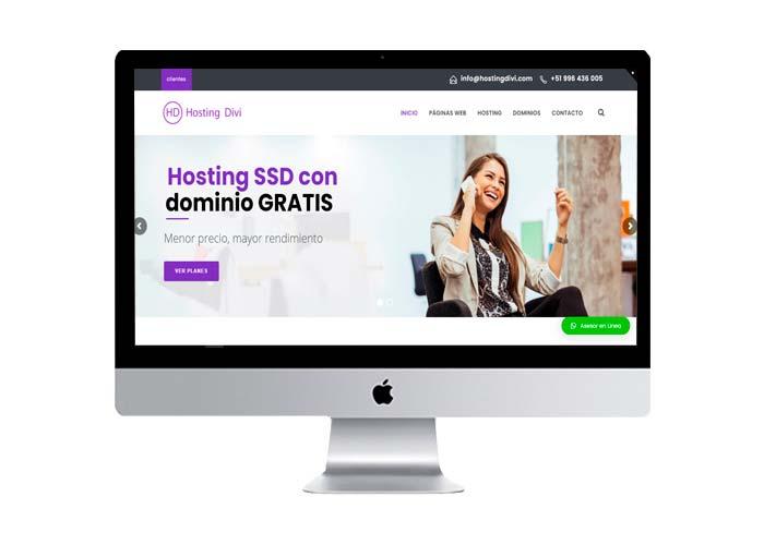 hosting peru weBS